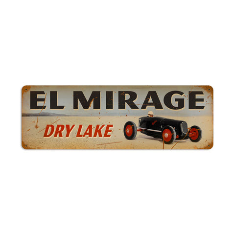 El Mirage Metal Sign Wall Decor 24 x 8