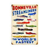 Worlds Fastest #1 Metal Sign Wall Decor 16 x 24