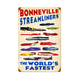 Worlds Fastest #2 Metal Sign Wall Decor 16 x 24