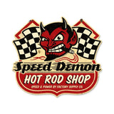 Speed Demon HRShop Metal Sign Wall Decor 15 x 13