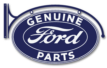 Ford FV-3DS Double-sided Genuine Parts Oval