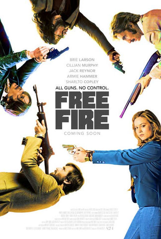 Free Fire Movie Posters - 27 x 40 Year: 2016