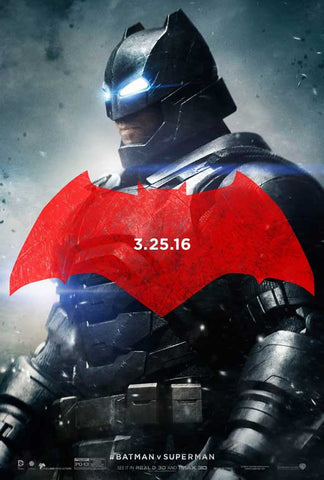 Batman v Superman: Dawn of Justice 27 x 40 Movie Poster - Style B