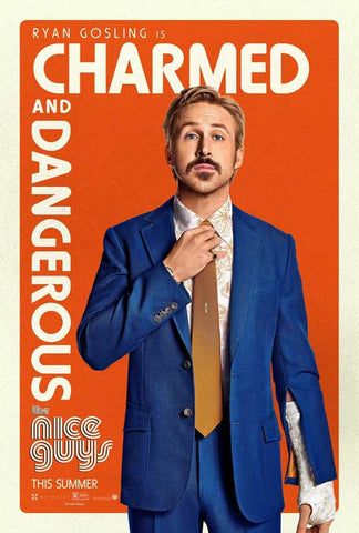 The Nice Guys 11 x 17 Movie Poster - Style C
