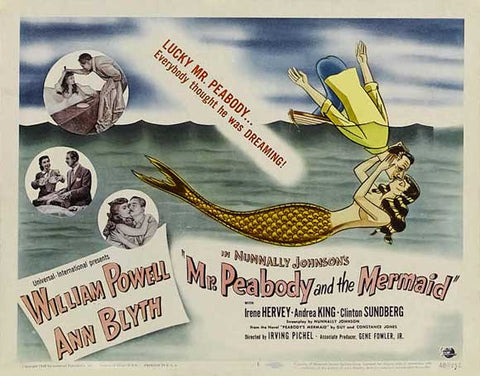 Mr. Peabody and the Mermaid 11 x 14 Movie Poster - Style A