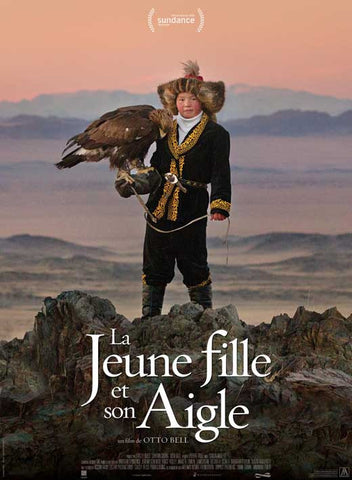 The Eagle Huntress 27 x 40 Movie Poster - French Style A