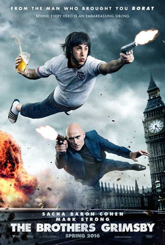 The Brothers Grimsby 11 x 17 Movie Poster - Style A