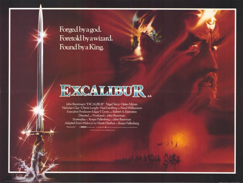 Excalibur 11 x 14 Movie Poster - Style B
