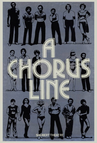 Chorus Line, A (Broadway) 27 x 40 Movie Poster - Style A