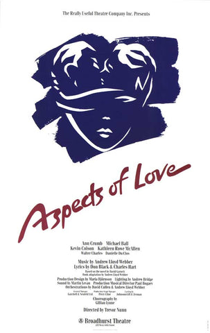 Aspects of Love (Broadway) 11 x 17 Poster - Style A