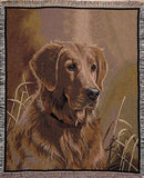 Tapestry - Golden Retriever Throw