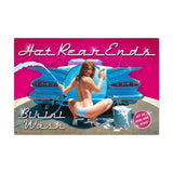 Hot Rear Ends Metal Sign Wall Decor 36 x 24