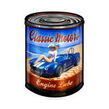 Classic Motor Cars Metal Sign Wall Decor 28 x 40