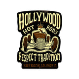 Roadster Respect Metal Sign Wall Decor 12 x 16