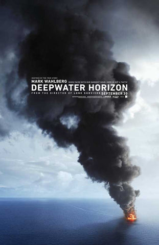 Deepwater Horizon 27 x 40 Movie Poster - Style A