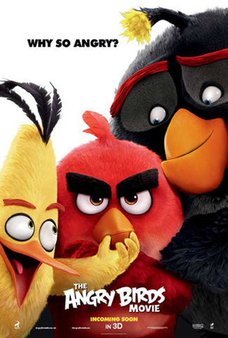 Angry Birds 11 x 17 Movie Poster - Style B