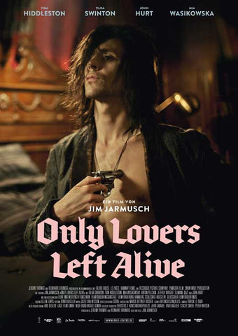 Only Lovers Left Alive 27 x 40 Movie Poster - German Style C - in Deluxe Wood Frame