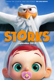 Storks 11 x 17 Movie Poster - Style D