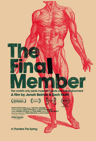 The Final Member 27 x 40 Movie Poster - Style A - in Deluxe Wood Frame
