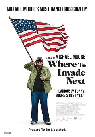 Where to Invade Next 27 x 40 Movie Poster - Canadian Style A
