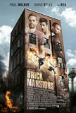 Brick Mansions 27 x 40 Movie Poster - Style A - in Deluxe Wood Frame