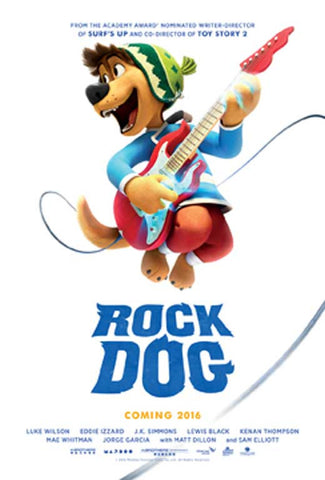 Rock Dog 11 x 17 Movie Poster - Style A