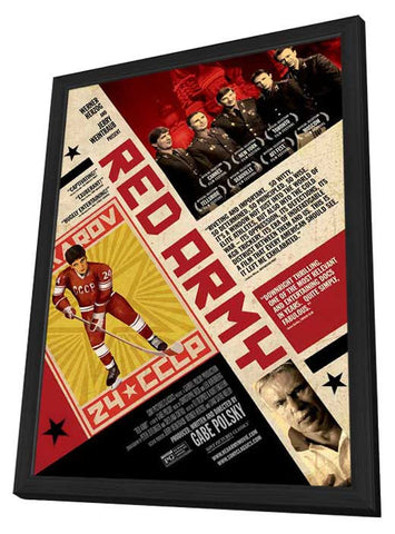 Red Army 27 x 40 Movie Poster - Style A - in Deluxe Wood Frame