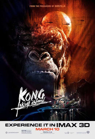 Kong: Skull Island 11 x 17 Movie Poster - Style C