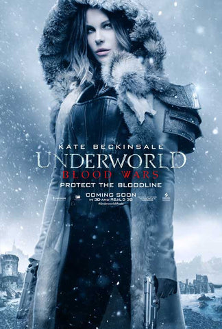 Underworld: Blood Wars 11 x 17 Movie Poster - Style G