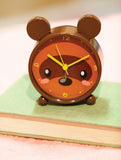 Bear Small Animal Table Clock