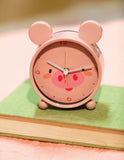 Pig Small Animal Table Clock