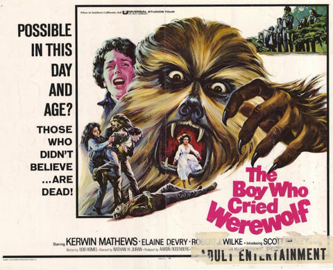 Boy Who Cried Werewolf 11 x 14 Movie Poster - Style A