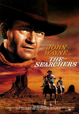 The Searchers 27 x 40 Movie Poster - Style B
