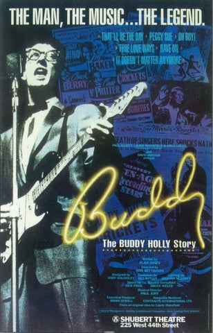 Buddy Holly Story, The (Broadway) 11 x 17 Poster - Style A