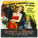 Affair in Reno 11 x 14 Movie Poster - Style A