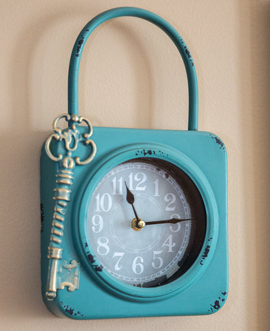 Lock And Key Clock