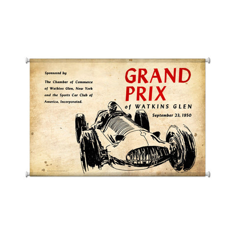 Watkins Grand Prix Metal Sign Wall Decor 25 x 36