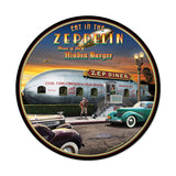 Zep Diner Metal Sign Wall Decor 14 x 14
