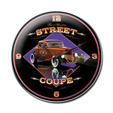 Street Coupe Metal Sign Wall Decor 14 x 14