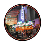 Warner Grand Theatre Metal Sign Wall Decor 14 x 14
