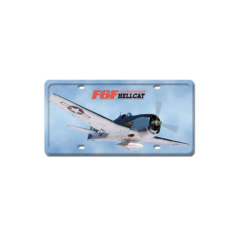 F6F HellCat Metal Sign Wall Decor 6 x 12