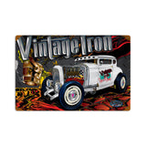 Rat Rod Vintage Iron Metal Sign Wall Decor 12 x 18
