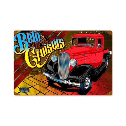 1936 Ford Metal Sign Wall Decor 18 x 12