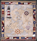 Tapestry - Nautical Novelties Throw