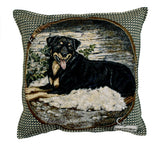 "Pillow - Rottweiler 18"" Pillow"