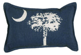 9 X 12 Tapestry Pillow Palmetto State Flag