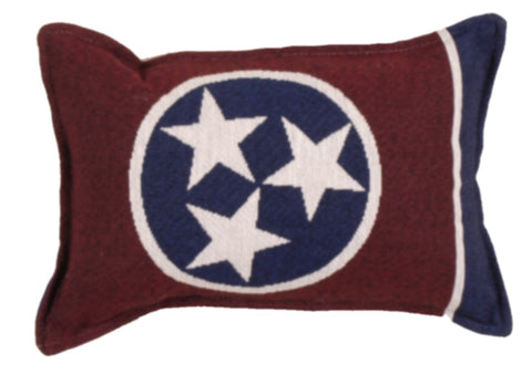 Flag Of Tennessee Small Tapestry Pillow