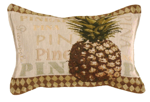 Pineapple Small Tapestry Pillow