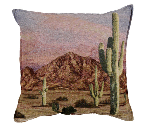 Camelback Mountain Tapestry Pillow
