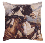 Wind Voyagers Tapestry Pillow